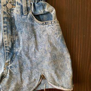 Free People Shorts - Vintage acid washed cut offs